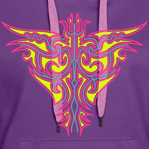 Maori Firebird 2 - Sudadera con capucha premium para mujer