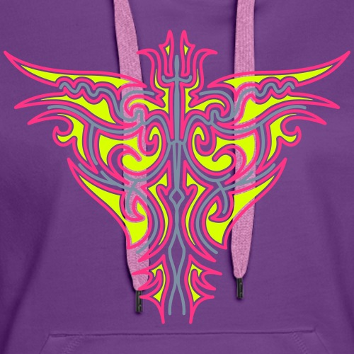 Maori Firebird 2 - Women's Premium Hoodie
