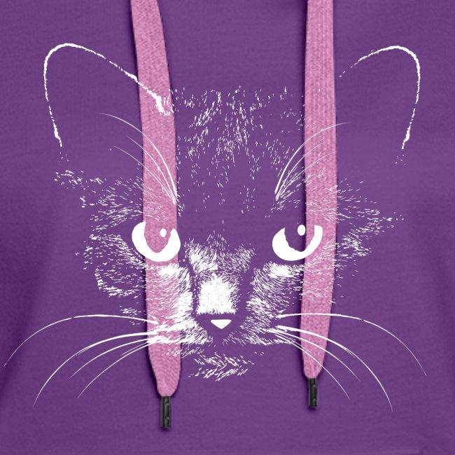 Vorschau: black cat - Frauen Premium Hoodie