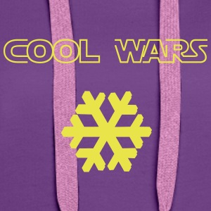 Cool_Wars - Sweat-shirt à capuche Premium pour femmes