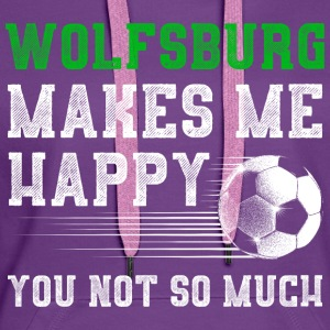 MAKES ME HAPPY Wolfsburg - Women's Premium Hoodie