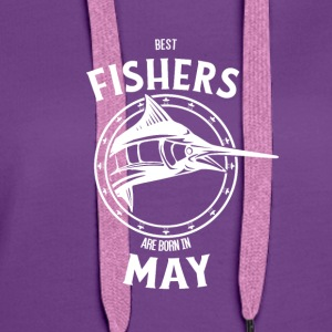 Present for fishers born in May - Women's Premium Hoodie