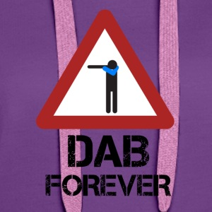 Dab Forever Red - Women's Premium Hoodie
