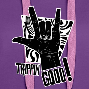 Trippin GOOD 2 - Premium hettegenser for kvinner