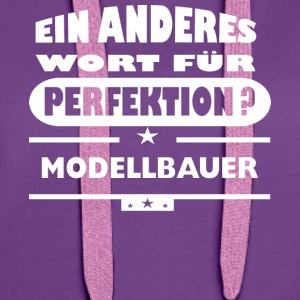 Modellbauer Other word for perfection - Women's Premium Hoodie
