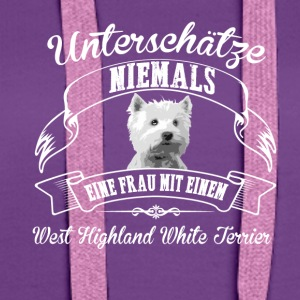 West Highland White Terrier - Frauen Premium Hoodie