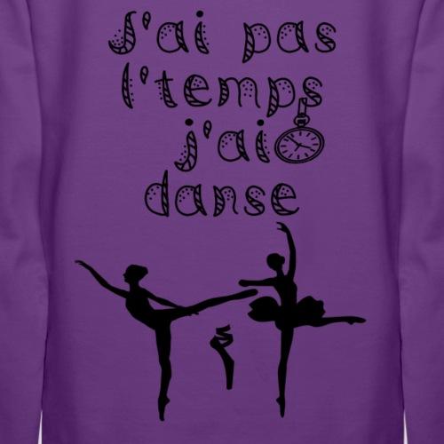 J'ai danse classique - Sweat-shirt à capuche Premium pour femmes