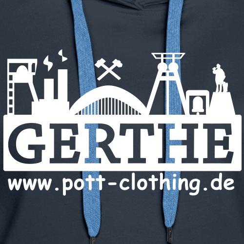 Skyline Bochum - Gerthe by Ruhrpott Clothing - Frauen Premium Hoodie