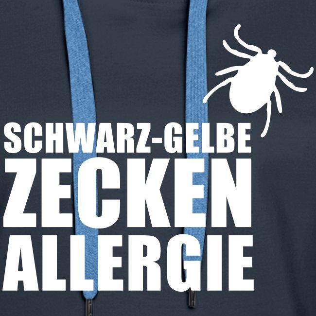 Schwarz-Gelbe Zeckenallerie