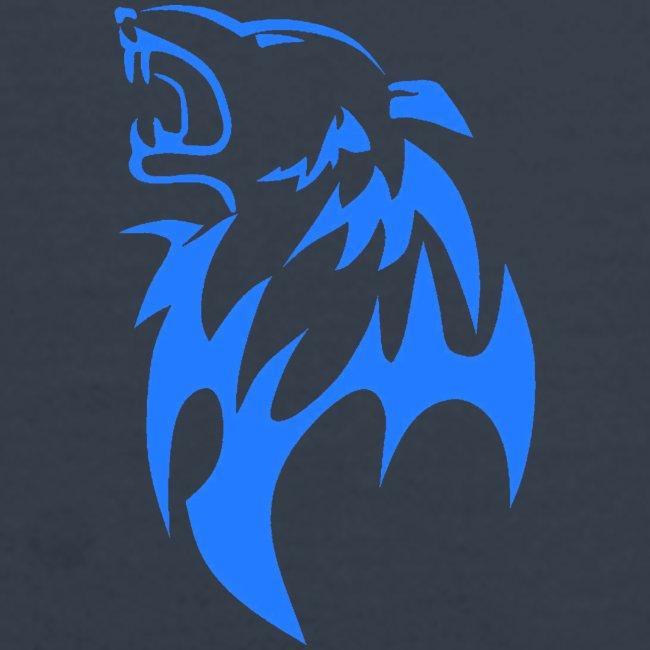 wolf blau png