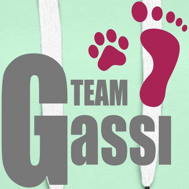 Vorschau: Team Gassi - Frauen Premium Hoodie