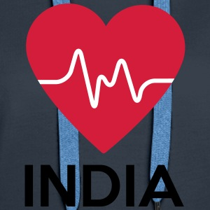 heart India - Women's Premium Hoodie