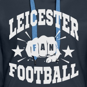 Leicester Football Fan - Premium hettegenser for kvinner