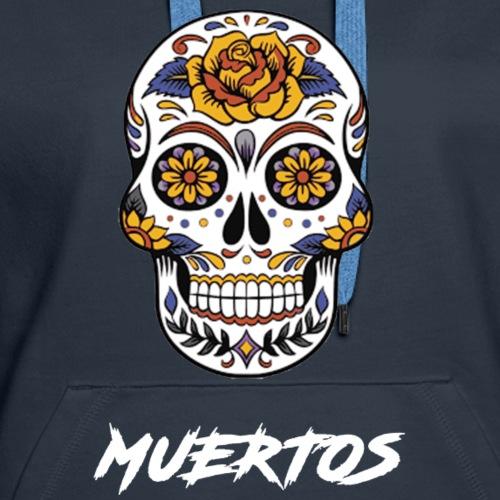 SkullAndBones - Sweat-shirt à capuche Premium pour femmes