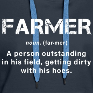 A great farmer - Women's Premium Hoodie