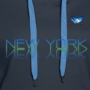Space Atlas T-Shirt New York - Women's Premium Hoodie