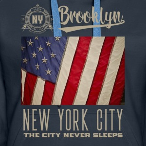 New York · Brooklyn - Premium hettegenser for kvinner