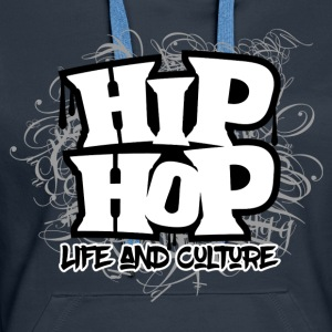 HipHop Life and Culture - Women's Premium Hoodie