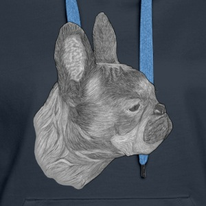 Dog French Bulldog - Women's Premium Hoodie