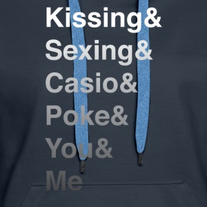 Kissing and Sexing - Women's Premium Hoodie