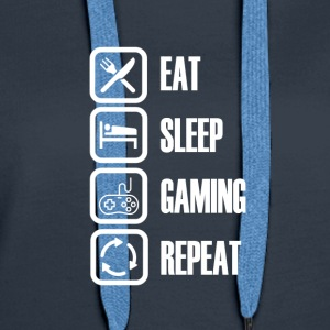 I LOVE GAMING - For all gamers - Women's Premium Hoodie