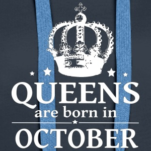 October Queen - Women's Premium Hoodie
