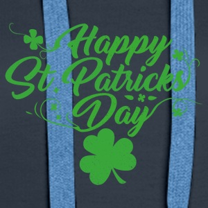 St. Patricks Day - Sweat-shirt à capuche Premium pour femmes