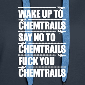 Say No to Chemtrails - Women's Premium Hoodie