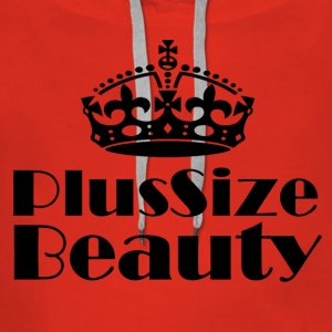 Plus Size Beauty - Premiumluvtröja dam