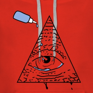 All Seeing Eye - Bluza damska Premium z kapturem