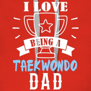 I love being a dad Taekwondo - Women's Premium Hoodie