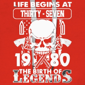 1980 the birth of Legends shirt - Women's Premium Hoodie