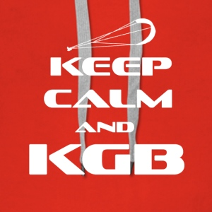 KITESURFING - KEEP CALM AND KGB - Frauen Premium Hoodie
