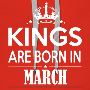 King March Birthday - Women's Premium Hoodie