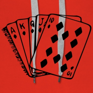 royal flush - Premium hettegenser for kvinner