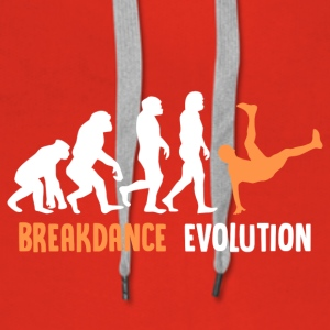 ++ ++ Breakdance Evolution - Bluza damska Premium z kapturem