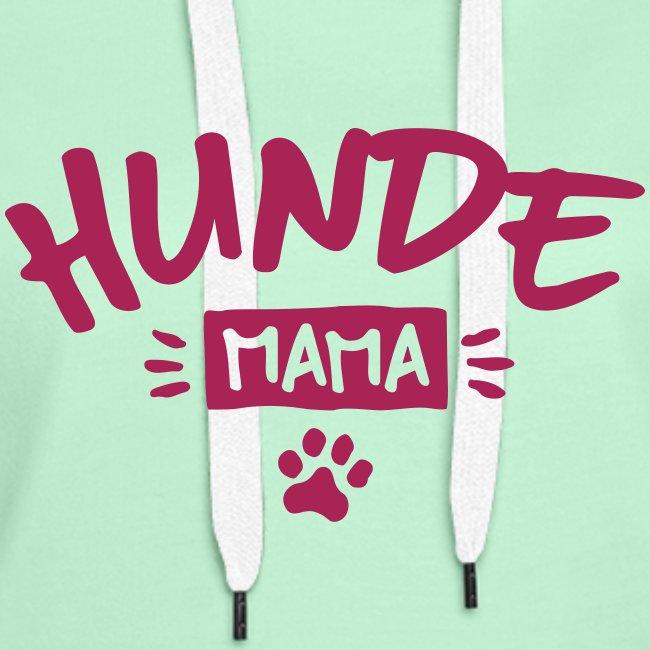 Vorschau: Hunde Mama - Frauen Premium Hoodie