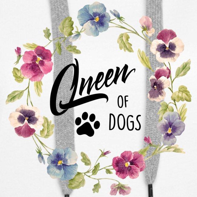 Vorschau: queen of dogs - Frauen Premium Hoodie