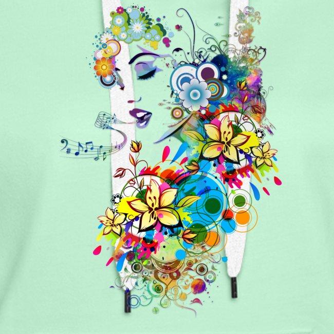Lady singer