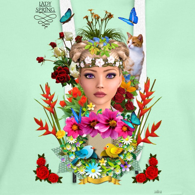 Lady spring - By t-shirt chic et choc