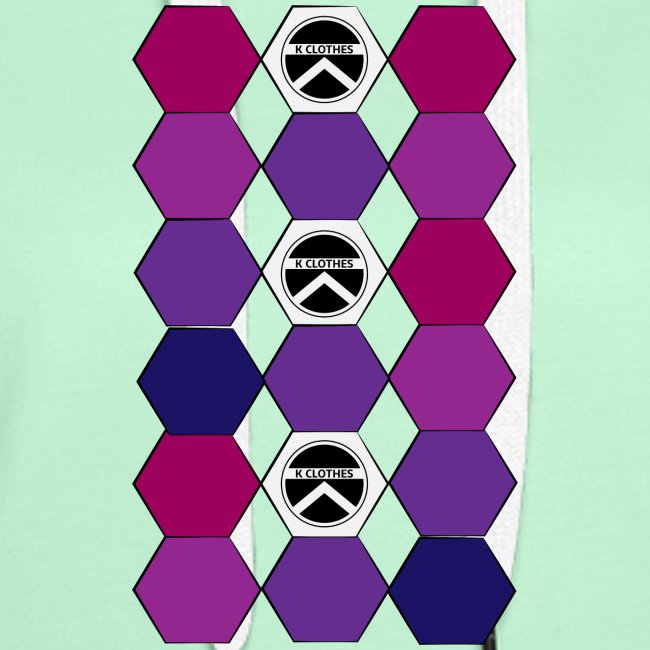 |K·CLOTHES| HEXAGON ESSENCE PURPLES & WHITE