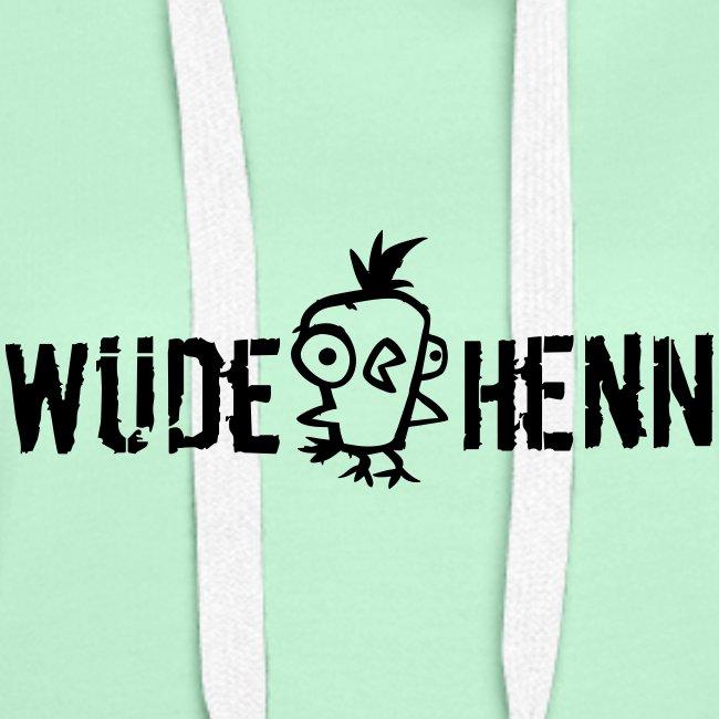 Vorschau: Wüde Henn - Frauen Premium Hoodie