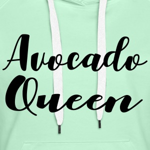 avocado Queen - Women's Premium Hoodie