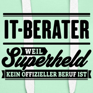 Superheld IT-Berater - Frauen Premium Hoodie