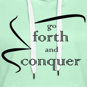 Forth and Conquer black - Women's Premium Hoodie