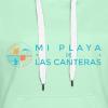 Mi playa de Las Canteras - Sudadera con capucha premium para mujer