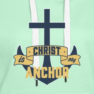 Christ my Anchor - Women's Premium Hoodie