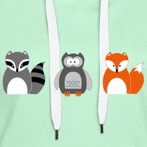 Forest animals - Women's Premium Hoodie