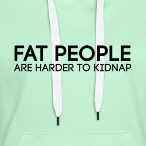 Fat_people - Premium hettegenser for kvinner