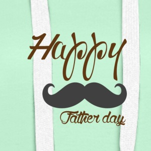 HAPPY FATHER DAY - Frauen Premium Hoodie